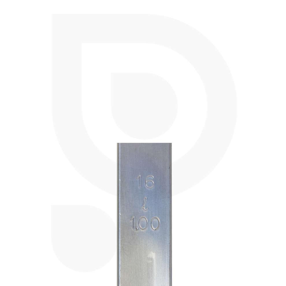 Mestolo inox con ∅16 - Lt 1