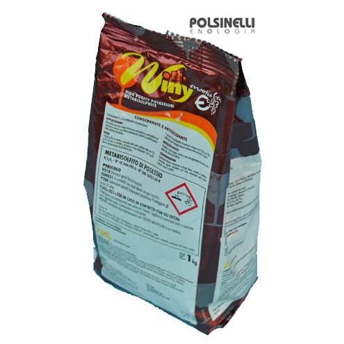 Metabisolfito di potassio Winy (1 kg)
