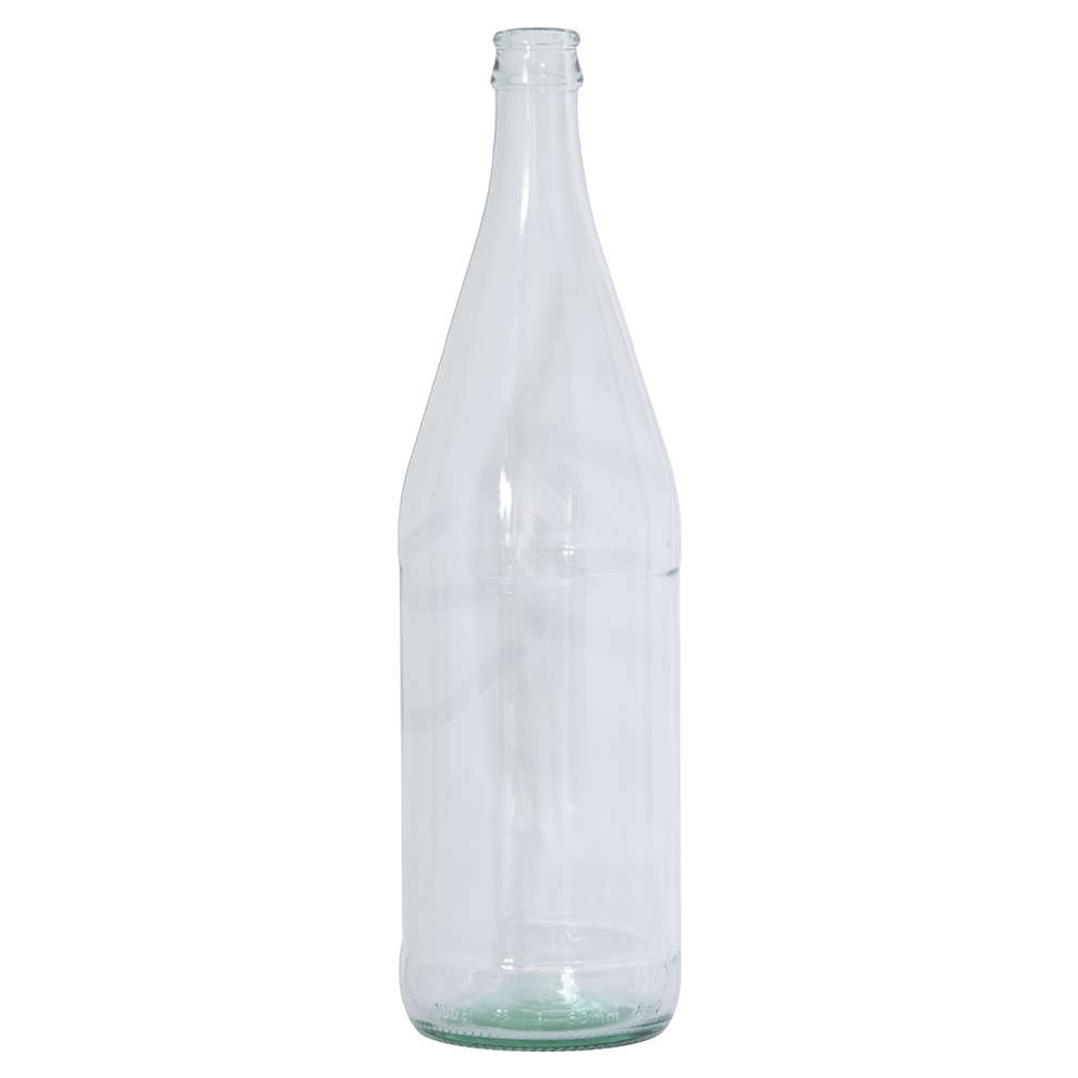Mineral water clear bottle 1 litre  (20 pieces)