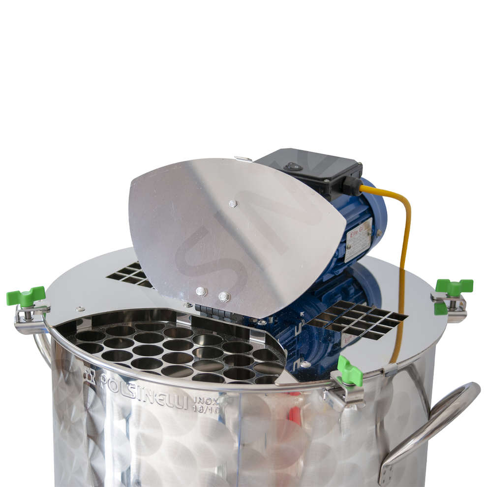 Motorized jam pot 150 l