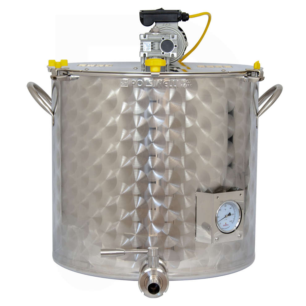 Motorized jam pot 200 l