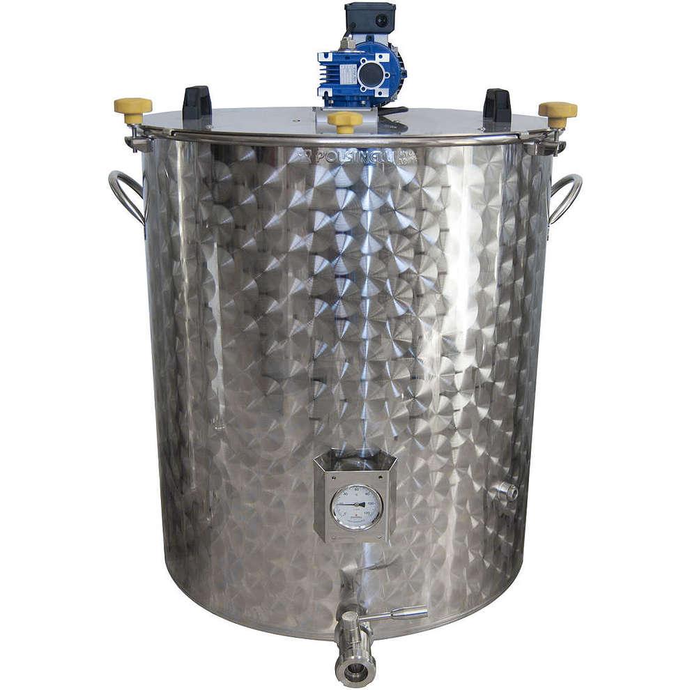 Motorized pan 300 liter