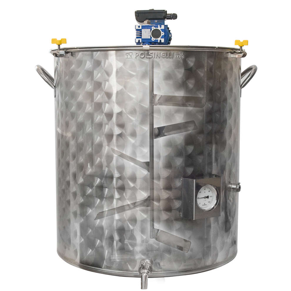 Motorized pot of 100 L