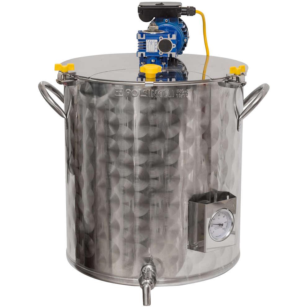 Motorized pot of 150 liters