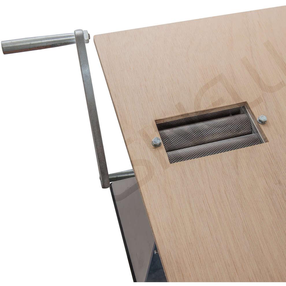 Mulino smart 2 rulli con base in legno