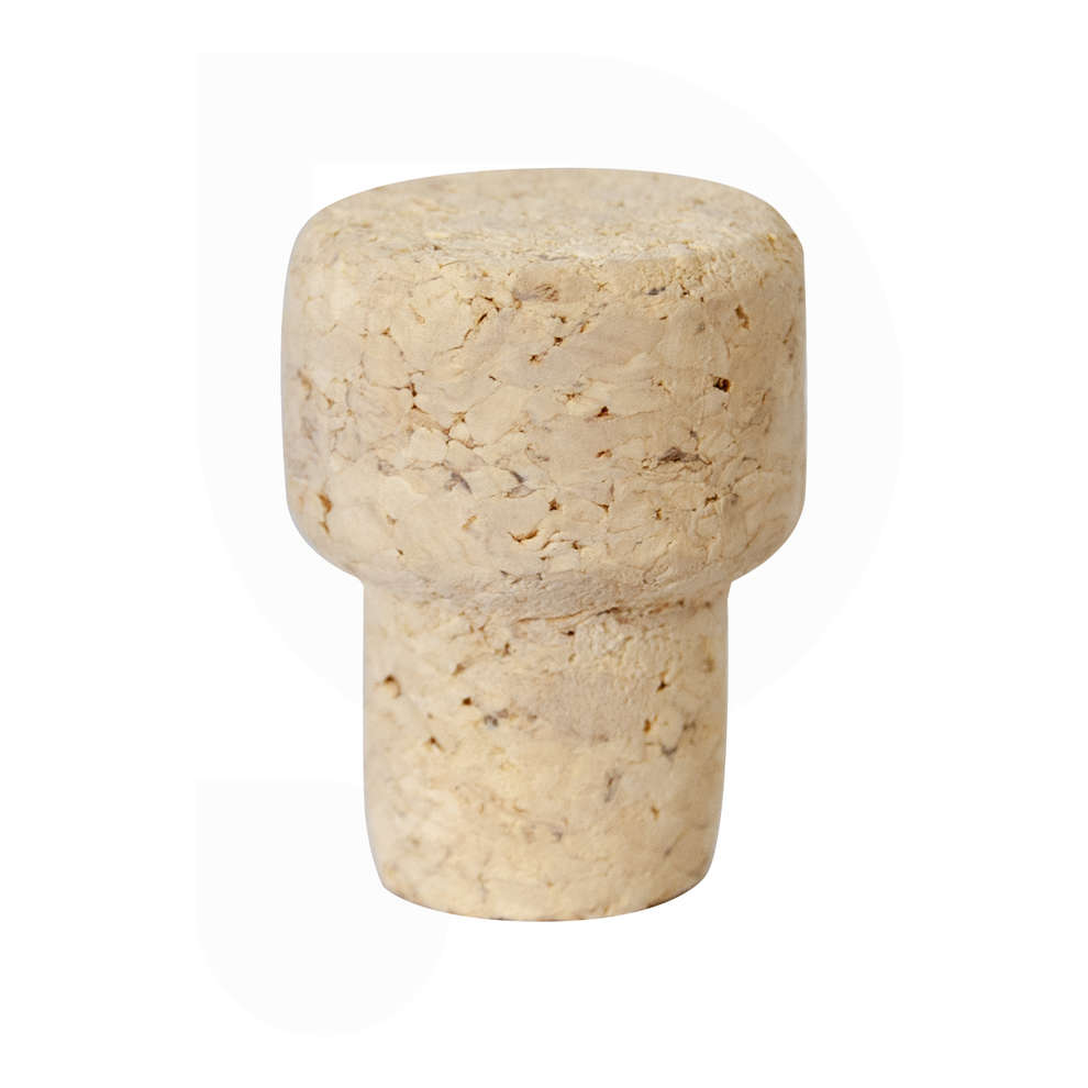 Mushroom-shape cork stopper ∅ 19 (100 pz)