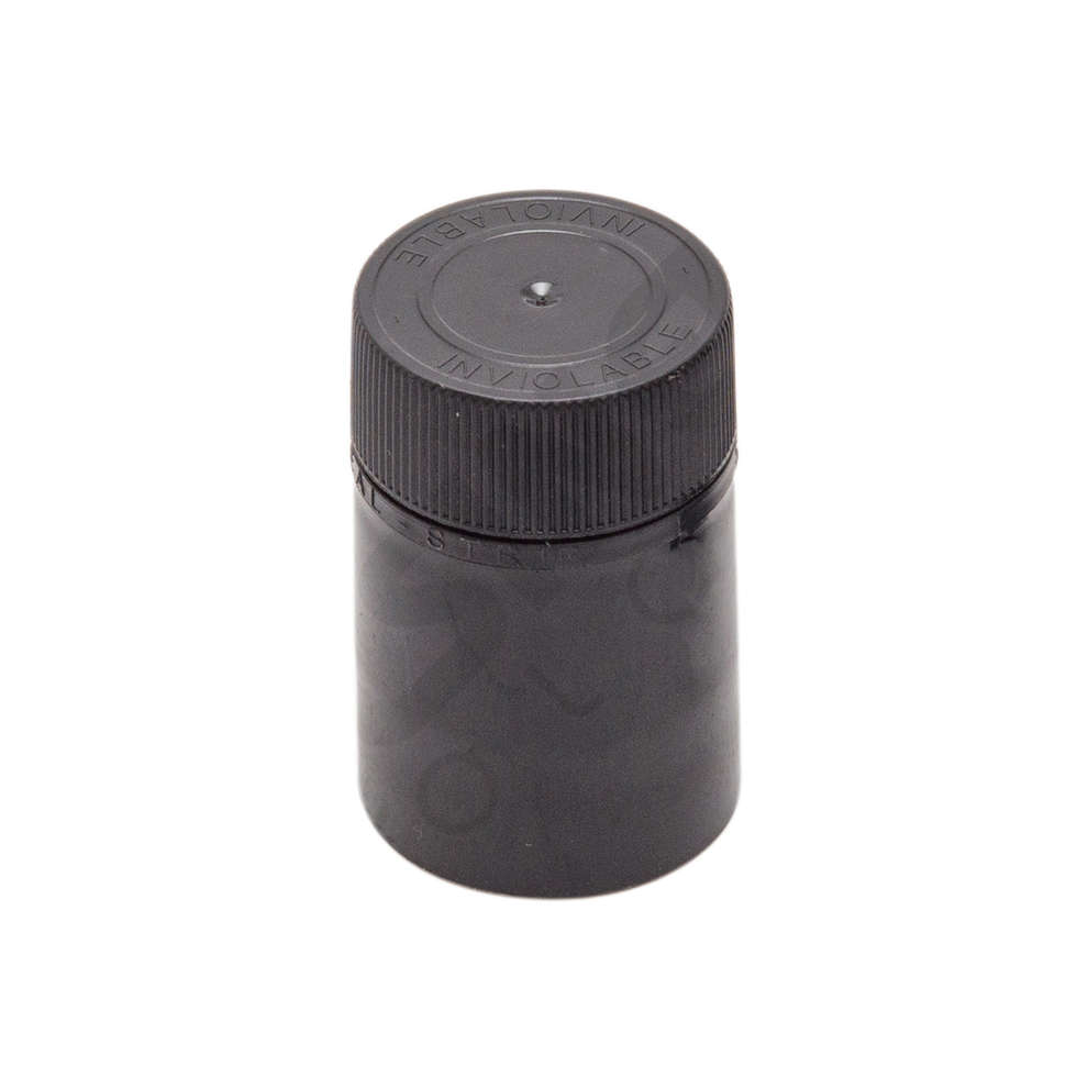 Not refillable Black cap ø 31 (50 pcs)