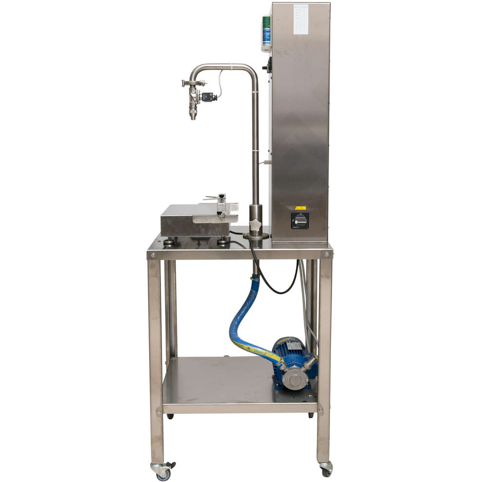 Olive oil weighing-filling machine for tins