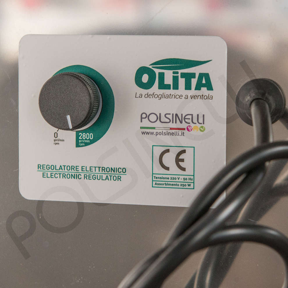 Olivenauswähler elektrisch mit Gitter