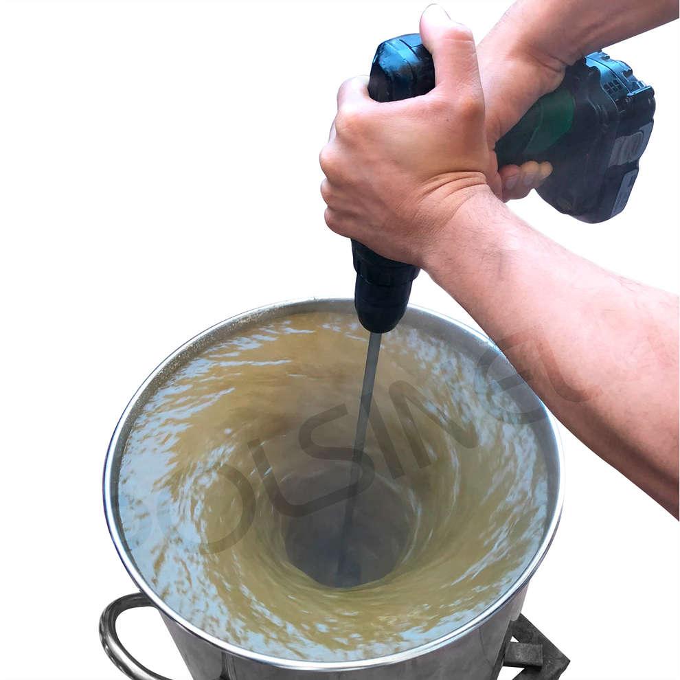 Pala inox per whirlpool