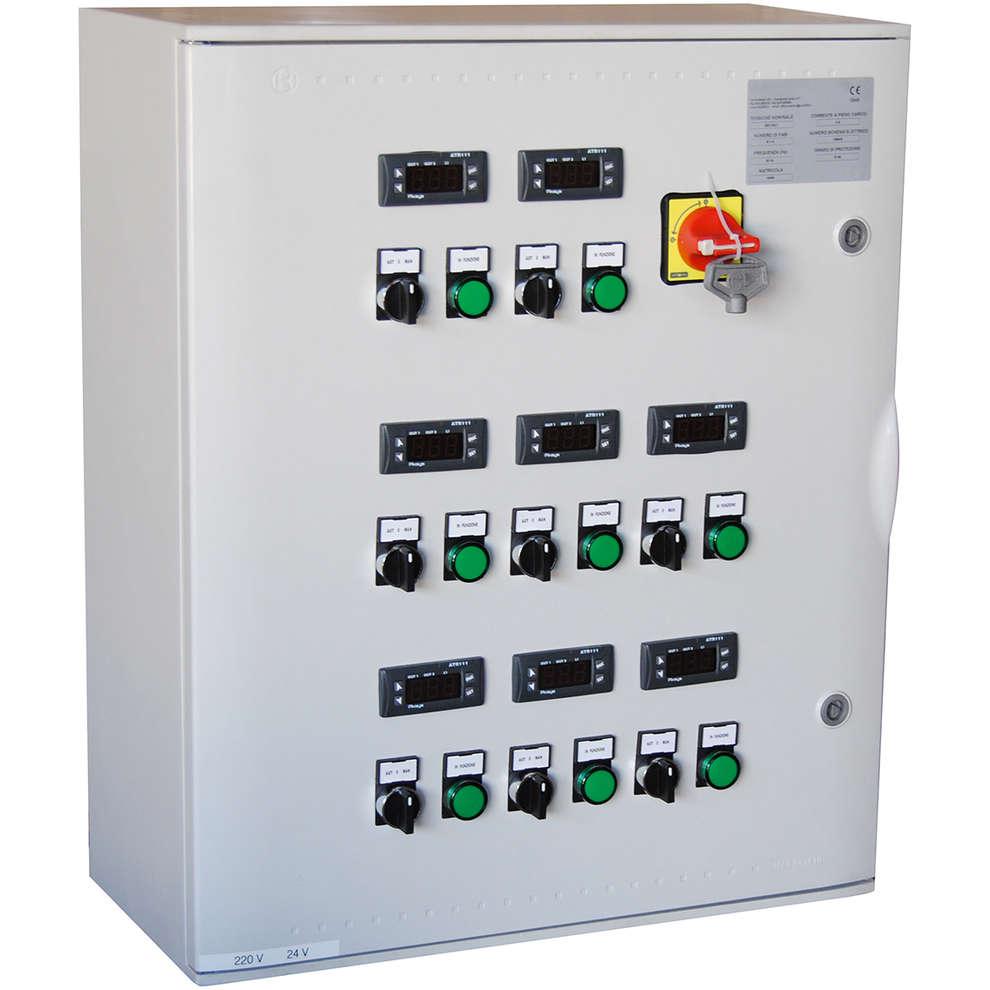 Panel eléctrico P8