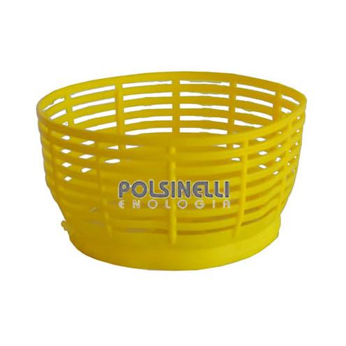 Panier jaune pour dame-jeanne 5 L