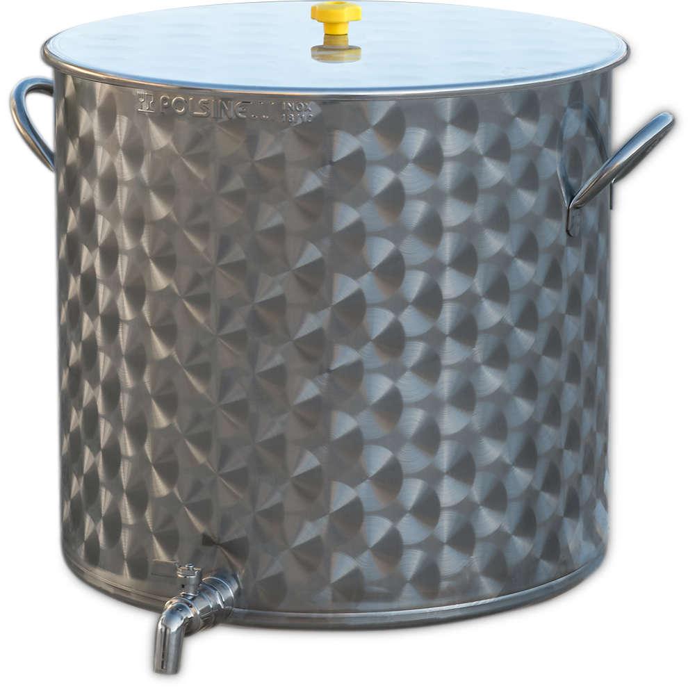 Pentola Inox con rubinetto 100 L