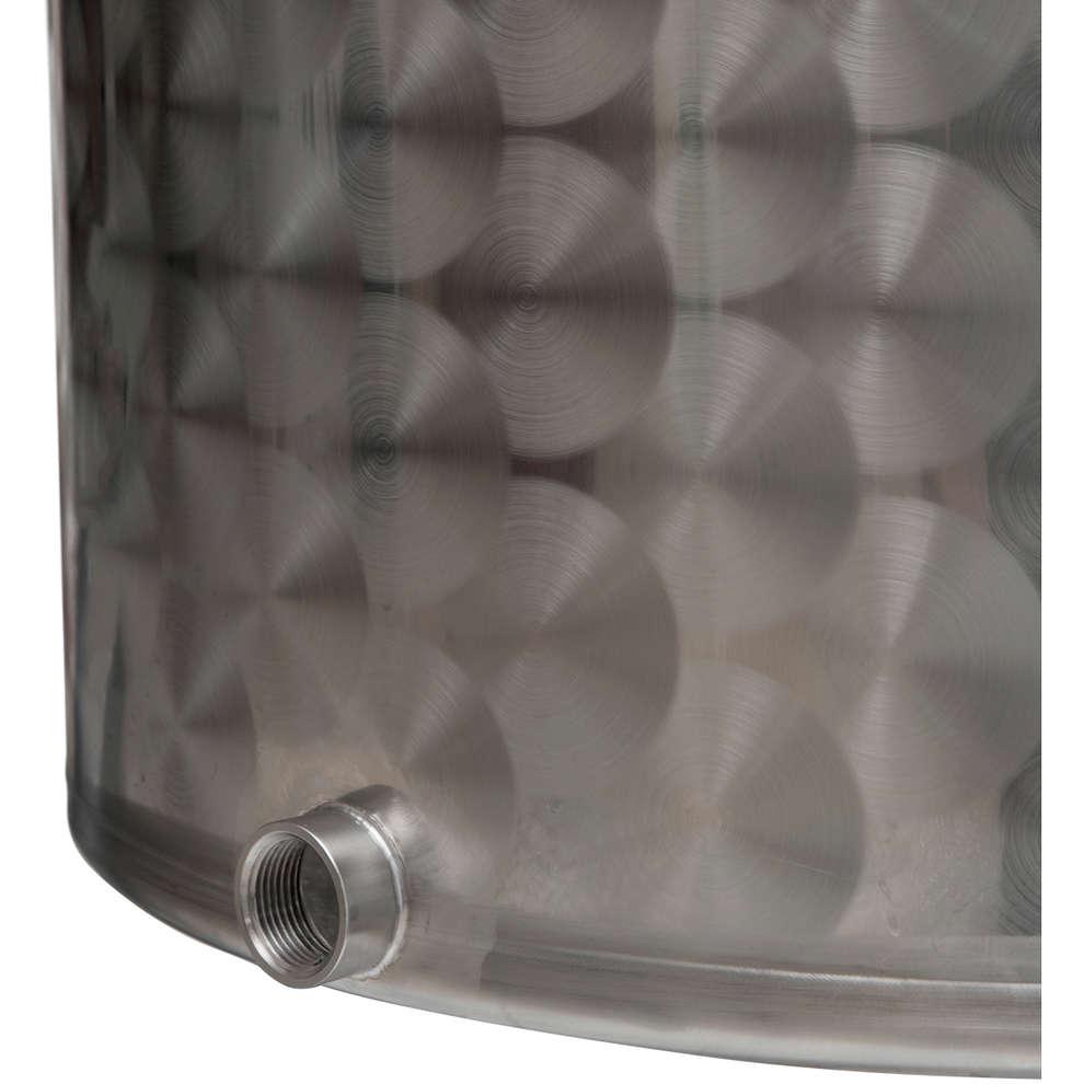 Pentola Inox con rubinetto 25 L
