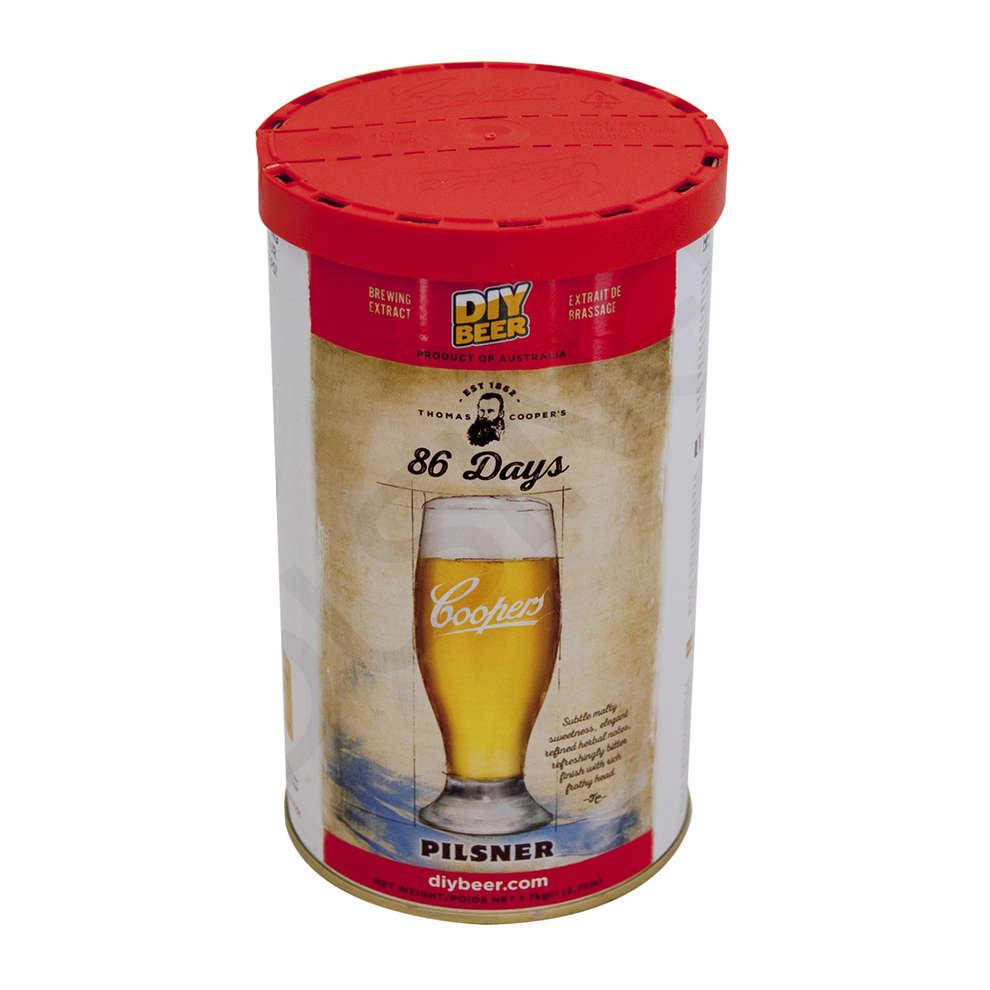 Pilsner malt (1.7 kg)