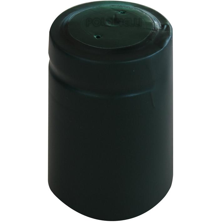 Pine green PVC capsule ⌀33 (100 pcs)