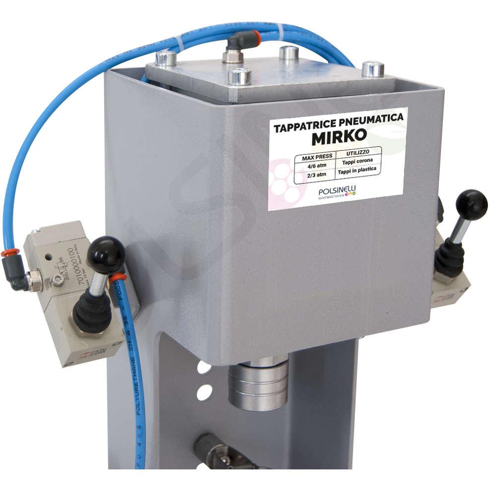 Pneumatic capping machine MIRKO