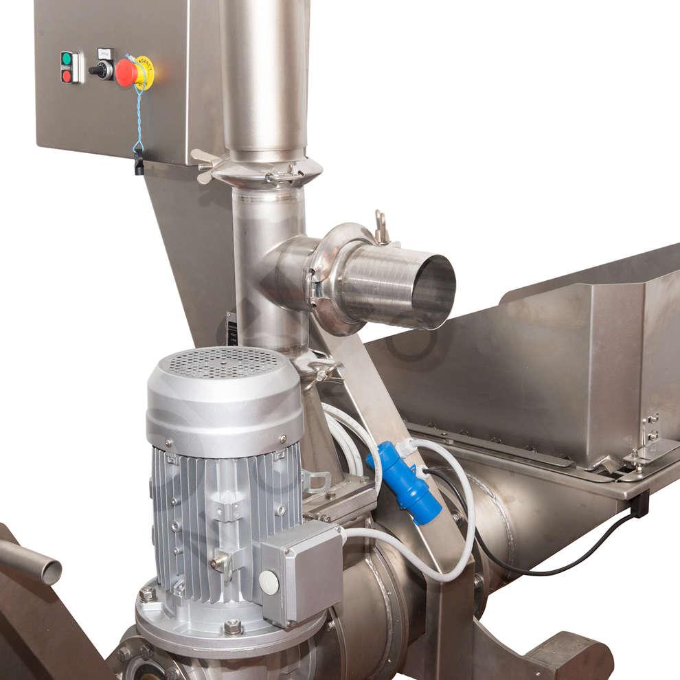 Pompe à rotor elliptique