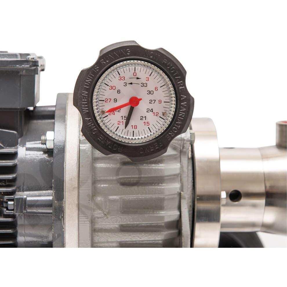 Pompe électrique pour usage alimentaire P30 A.T. avec variateur mécanique