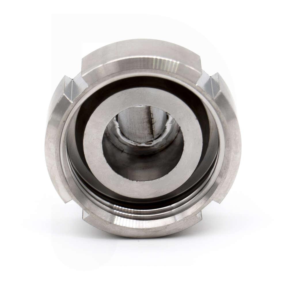 Portagomma inox DIN 25 M c/girello per PG 20