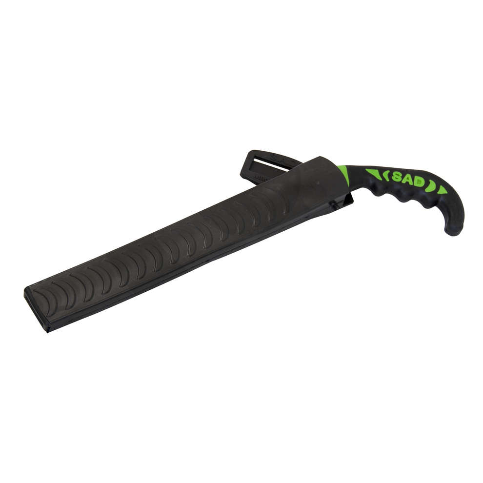 Pruning saw with scabbard