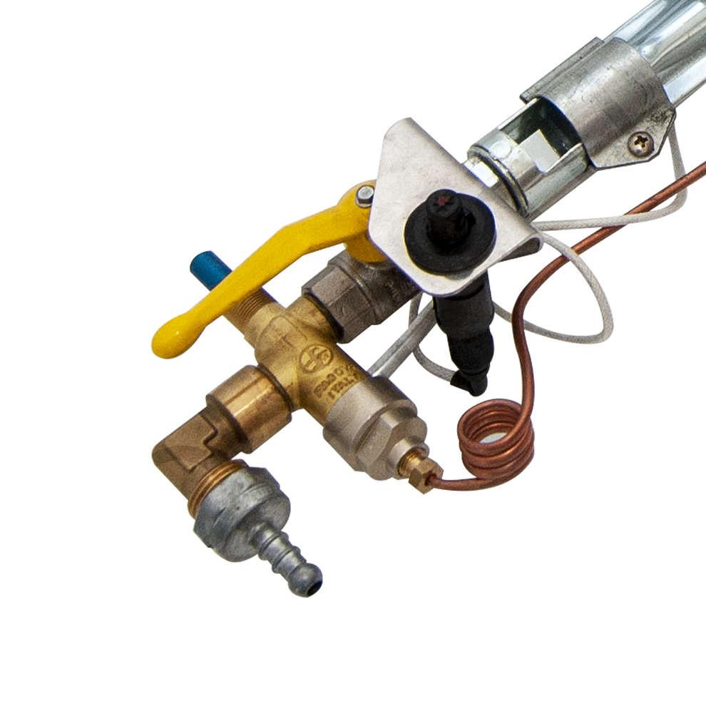 Quemador de gas CROMO 6.0 kw PSP LPG / CNG