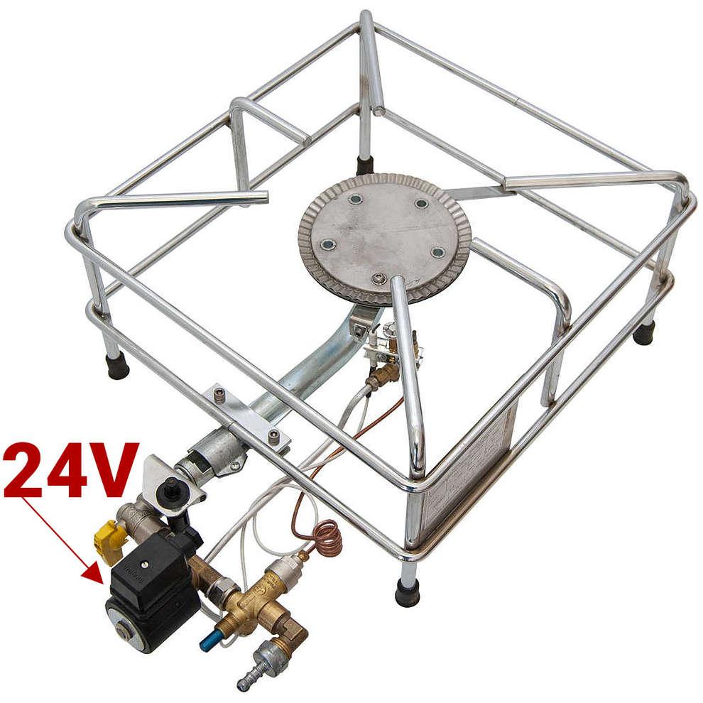 Quemador de gas CROMO 6.0 kw PSPEV LPG / CNG