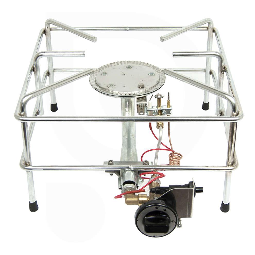 Quemador de gas CROMO 9.2 kw PSP LPG / CNG