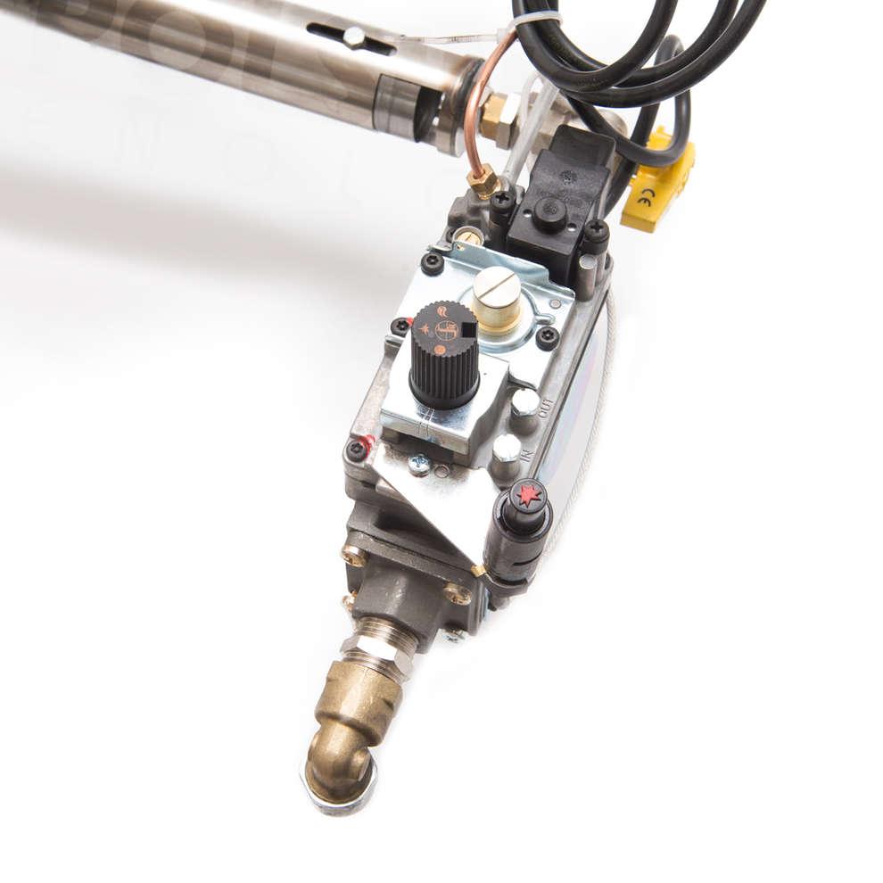 Quemador de gas de acero de 35 kW ⌀ 74 PSPEV