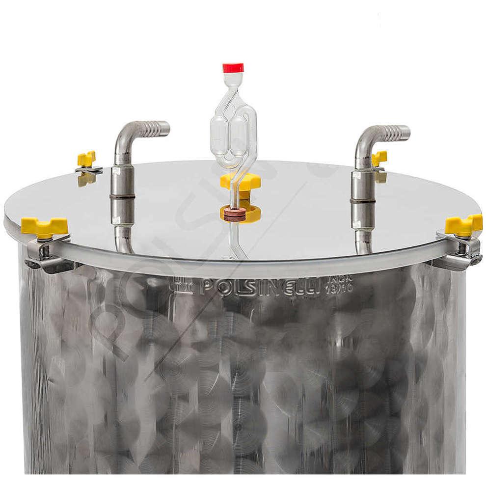 Refrigeration kit for 300 L flat bottom fermenter