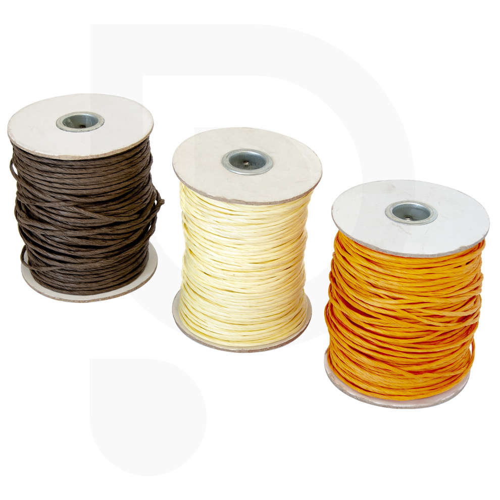 Ribbon with metal core different colors 100 mt