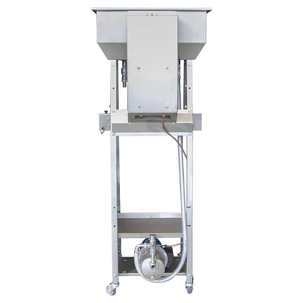 Riempitrice INOX CAD 4 alta con galleggiante elettrico