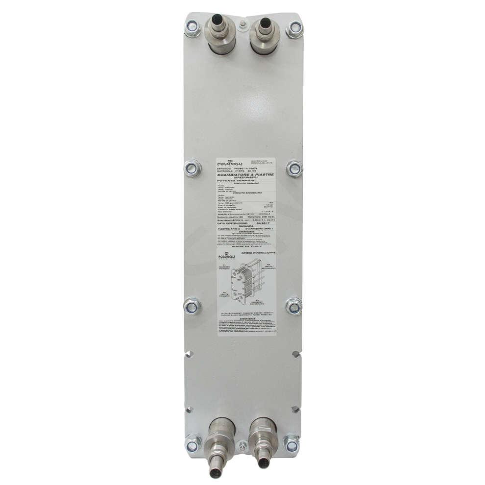 Scambiatore di calore a 40 piastre ispezionabili Maxi 80
