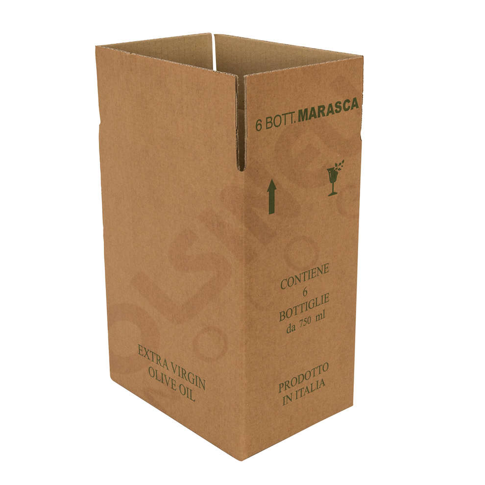 Scatola per 6 bottiglie Marasca da 750 mL (10 pz)