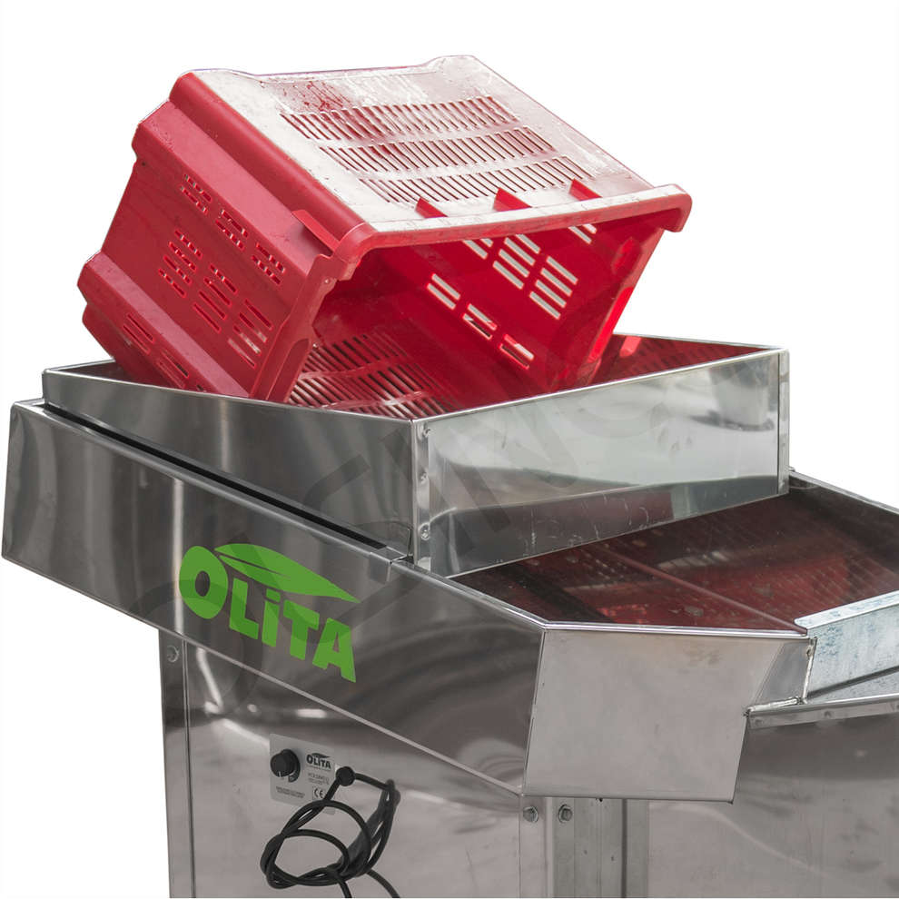 Scegliolive defogliatore OLITA X INOX con griglia