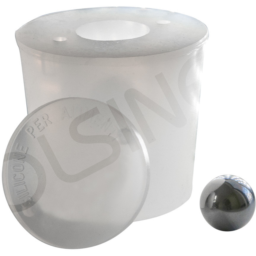 Silicone cap with air vent