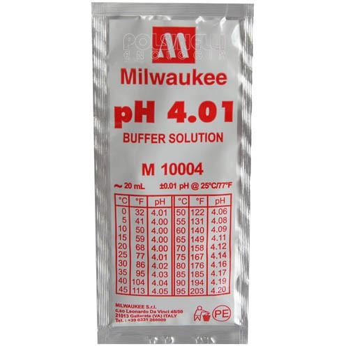 Soluzione di calibrazione pH 4,01 (20 mL)