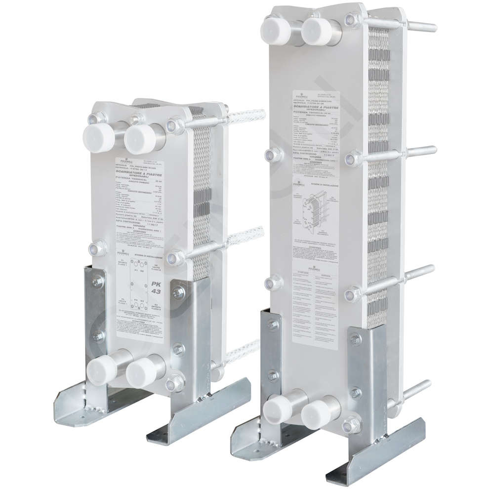 Soportes de fijación para intercambiador de calor MAXI 80/43