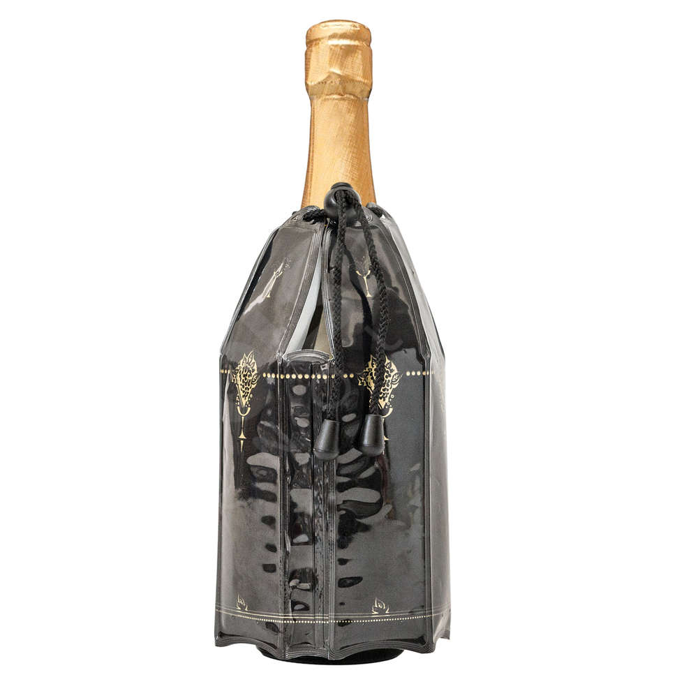 Sparkling wine bottle cooler