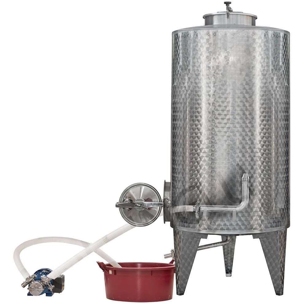 Sprinklersystem zum Reinigung von den Edelstehlbehälter