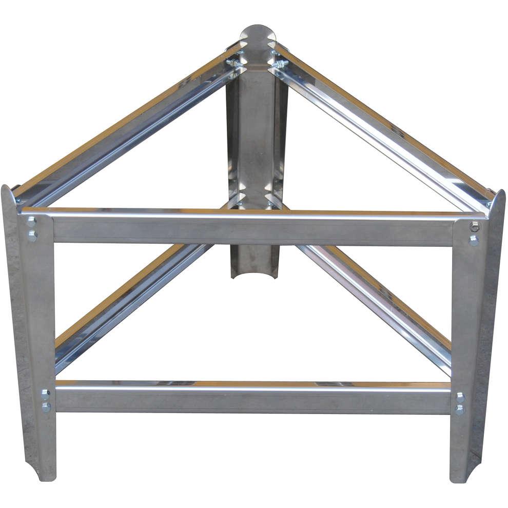 Stainlees steel pedestal ⌀455