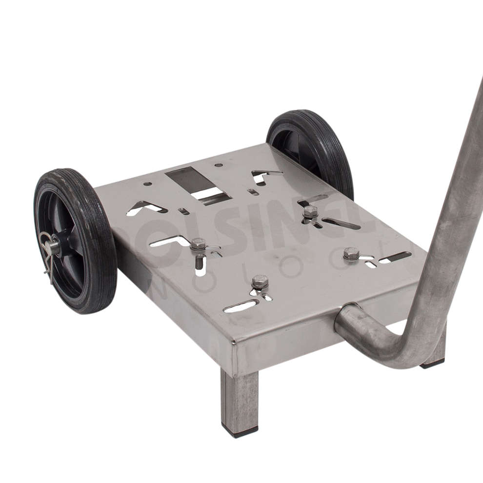 Stainless steel cart for electric pump