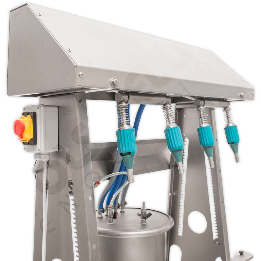 Stainless steel FAST 4 filling machine