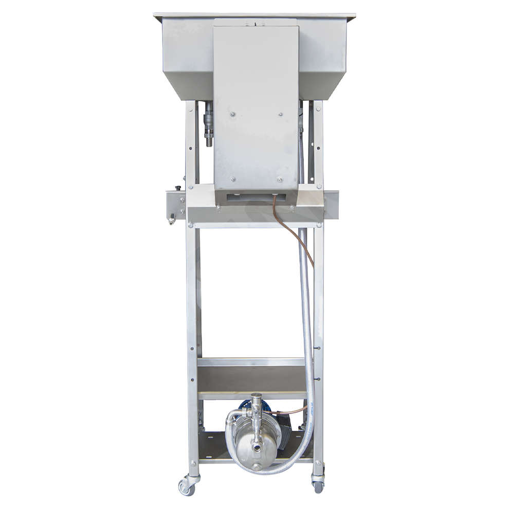Stainless steel filling machine Cad 4 with electric float switch