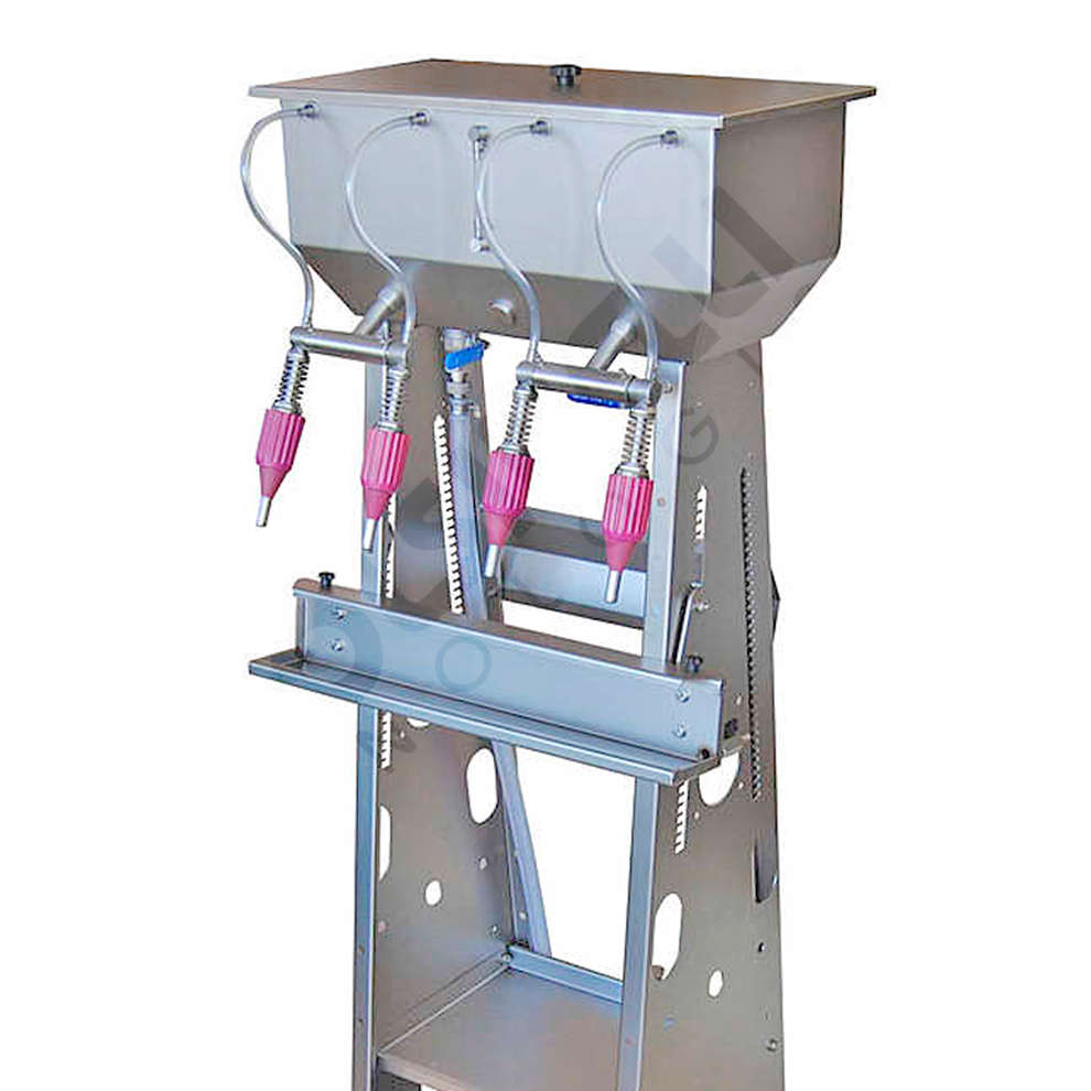 Stainless steel filling machine Cad 4 with  float switch