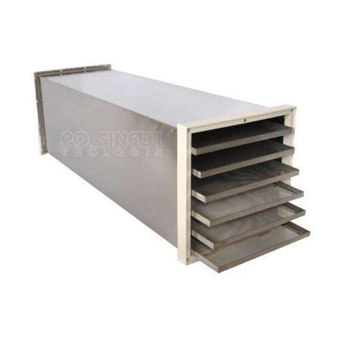 Stainless steel food dryer De Luxe B12