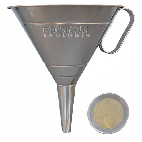 Stainless steel funnel ⌀22
