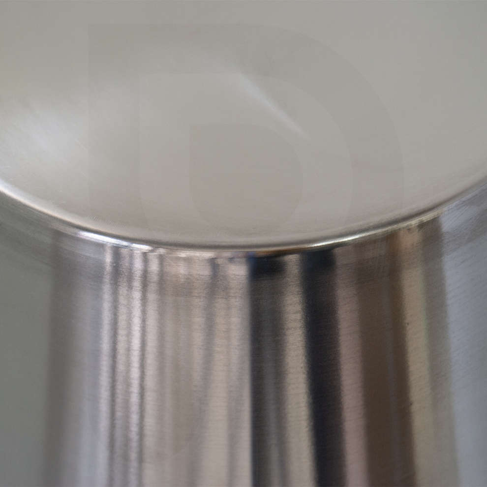 Stainless steel graded bucket 8 liters
