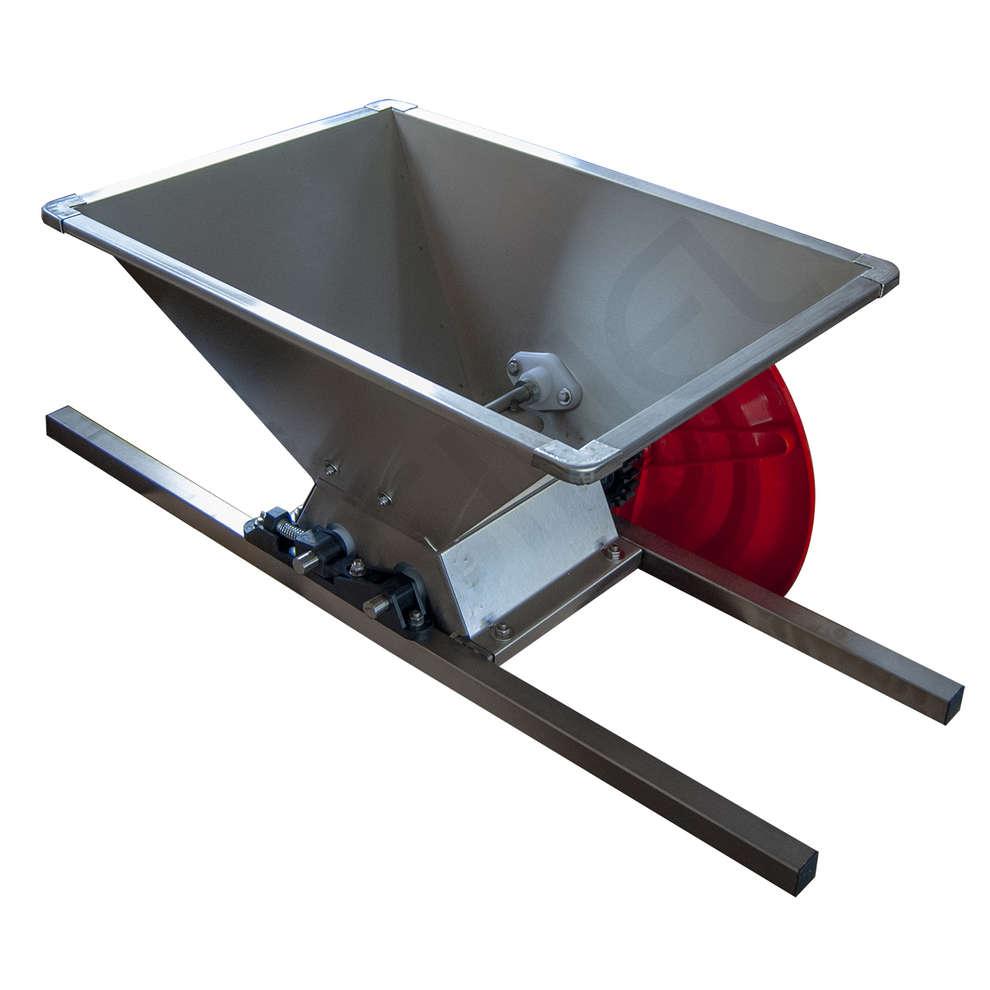 Stainless steel grape crusher type B