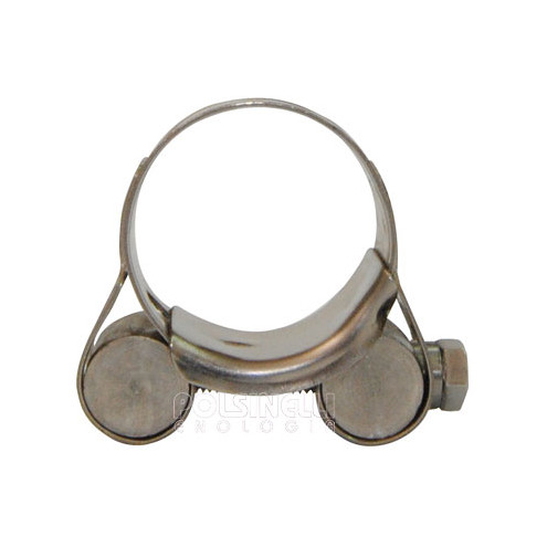 Stainless steel hose clamp Ø 26/28